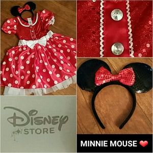 DISNEY STORE Deluxe MINNIE MOUSE SET